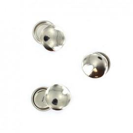 Boutons à recouvrir métal 29 mm (lot de 3)