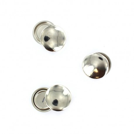 Metal buttons to cover  29 mm (x3)