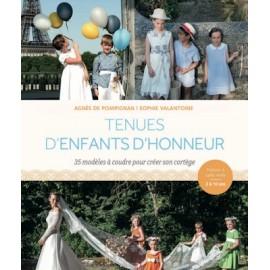 """Livre """"Tenues d'enfants d'honneur"""""""