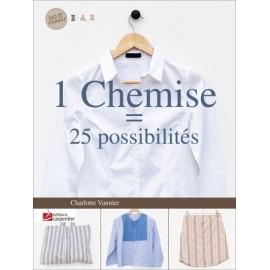 """Livre """"1 chemise, 25 possibilités"""""""