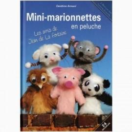 """Livre """"Mini- marionnettes en peluches"""""""