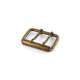 Barbed roller buckle Elise - bronze