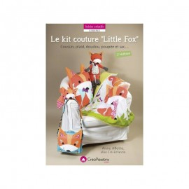 "Livre ""Le kit couture ""Little Fox"""