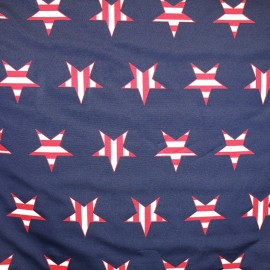 ♥ Coupon tissu 340 cm X 140 cm ♥ American Star fabric - navy