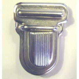 Attache Cartable 25 mm nickelé