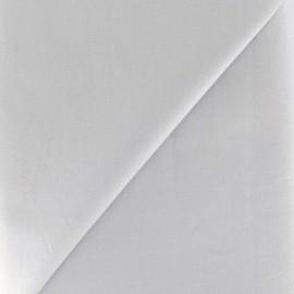 Tissu Popeline gris perle x10cm
