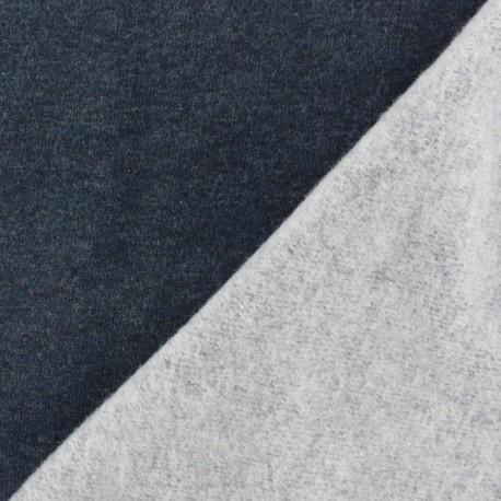 Sweat Fabric - navy x 10cm