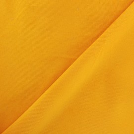 Milleraies velvet fabric 200gr/ml - saffron yellow x10cm