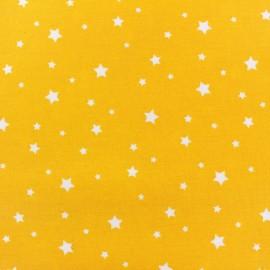 Tissu enduit coton Scarlet jaune x 10cm