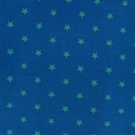Tissu coton Qjutie Kids Stars azur/bleu x 10cm