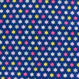 Tissu Jersey Qjutie Kids Multi stars marine x 10cm
