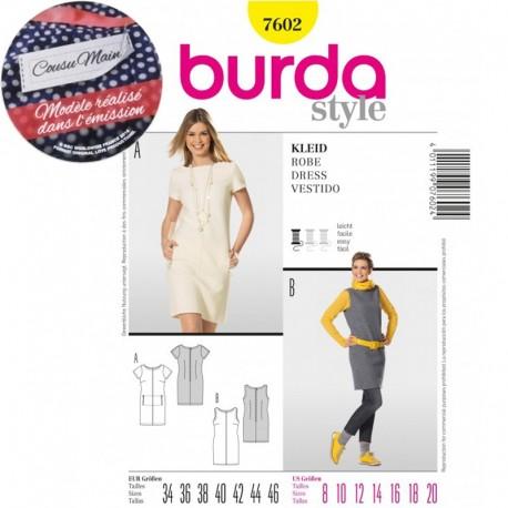 Dress Sewing Pattern Burda n°7602