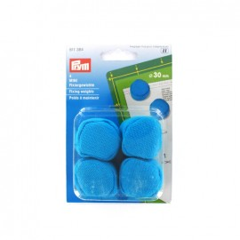 Fixing weights 30 mm - blue (x4)