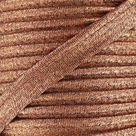 Passepoil Lurex cuivre