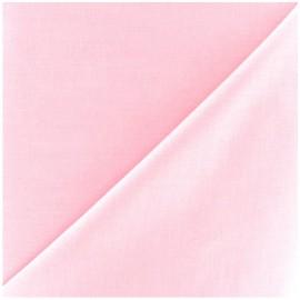 Tissu Voile de coton rose