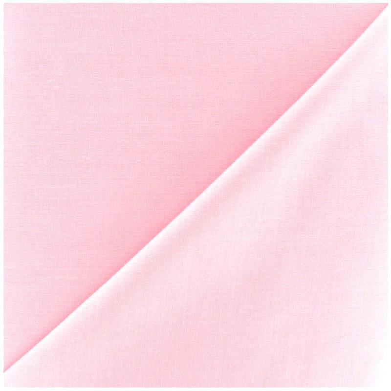 tissu voile de coton rose x 10cm ma petite mercerie. Black Bedroom Furniture Sets. Home Design Ideas