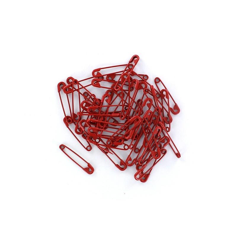 epingle nourrice color rouge lot de 50 ma petite mercerie. Black Bedroom Furniture Sets. Home Design Ideas