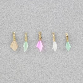 Plume pendant - Sorbet - set of 5