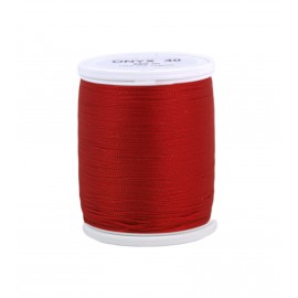 Plolyamide sewing thread 200 m - red