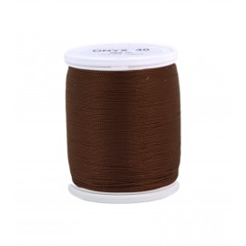Polyamid laser thread bobbin ONYX 40  200 m - brown