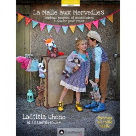 """Livre """"La malle aux merveilles"""" Laetitia Ghéno"""