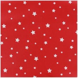 Tissu coton Scarlet red x 10cm