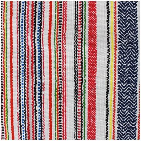 Ibiza fabric - multi x 10cm