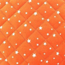 Quilted cotton fabric Scarlet - brick x 10cm