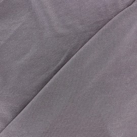 Light Sequined Viscose Jersey Fabric - slate blue x 10cm