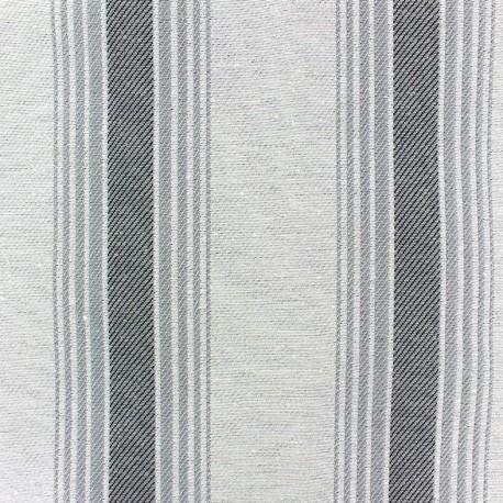 Blanes canvas fabric - grey x 10cm