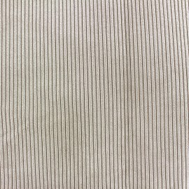 Pana velvet fabric - beige x 10cm