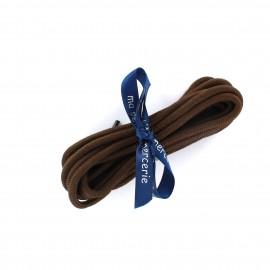 Lacets de chaussures Diego marron (x2)