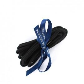 Lacets de chaussures Diego noir (x2)