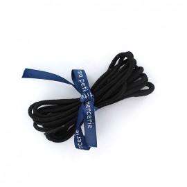 Lacets de chaussures Marco noir (x2)