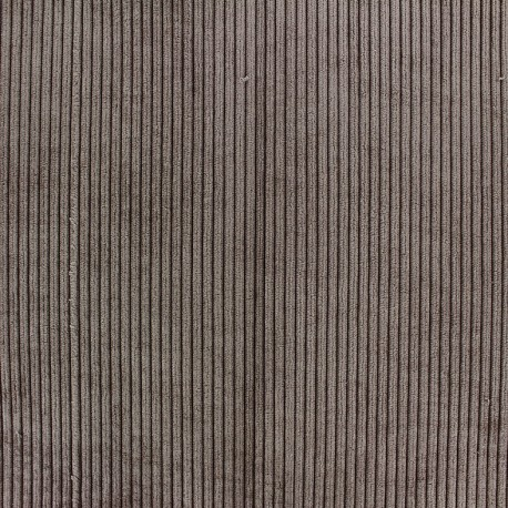 Pana velvet fabric - chesnut x 10cm