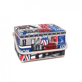 "Sewing box ""London"" - multicolored"