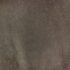 Tissu Suédine Apache taupe x 10cm
