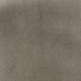 Tissu Suédine Apache gris x 10cm
