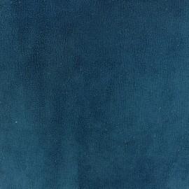 Suede fabric Texas - cobalt x 10cm