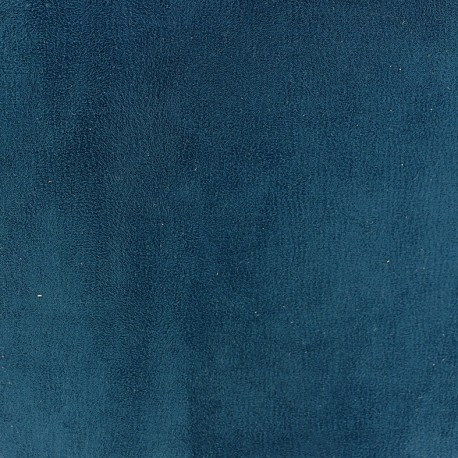Tissu Daim Texas cobalt x 10cm