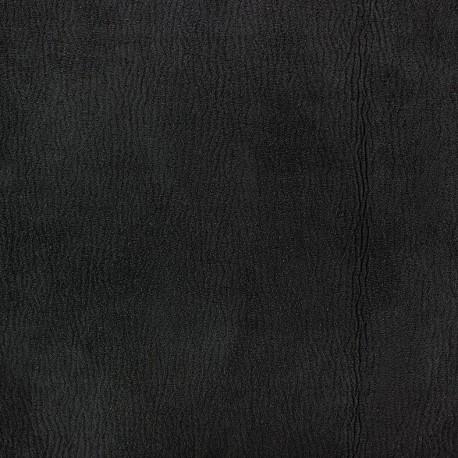 Suede fabric Texas - black x 10cm