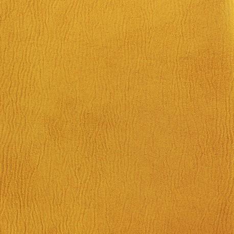 Suede fabric Texas - ocre x 10cm