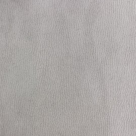 Suede fabric Texas - light grey x 10cm