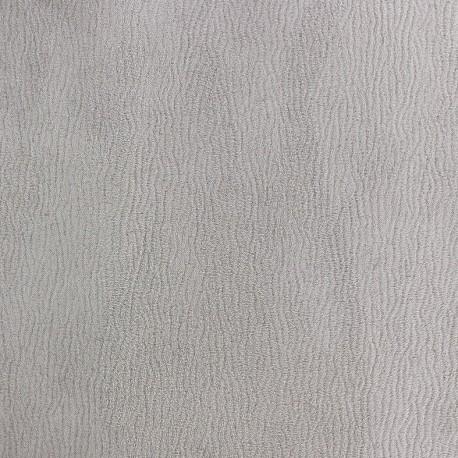 Tissu Daim Texas gris clair x 10cm