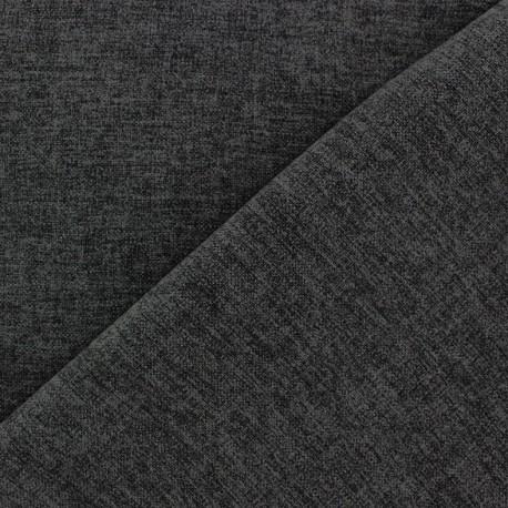 Flannel fabric Verona - anthracite x 10cm