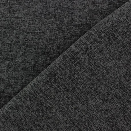 Tissu flanelle verona gris anthracite x 10cm ma petite mercerie - Tissu gris anthracite ...