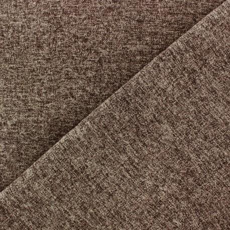 Flannel fabric Verona - cacao x 10cm