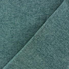 Tissu flanelle Verona bleu pétrole x 10cm