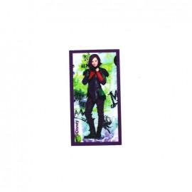 ♥ Iron on canvas patch Descendants - Mal Down with Auradon ♥
