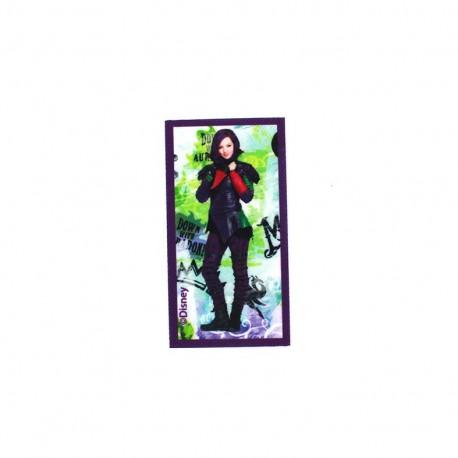 Iron on canvas patch Descendants - Mal Down with Auradon